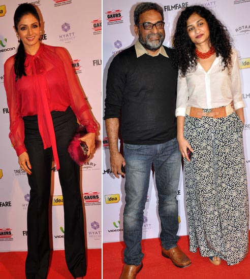 Sridevi, R Balki and Gauri Shinde
