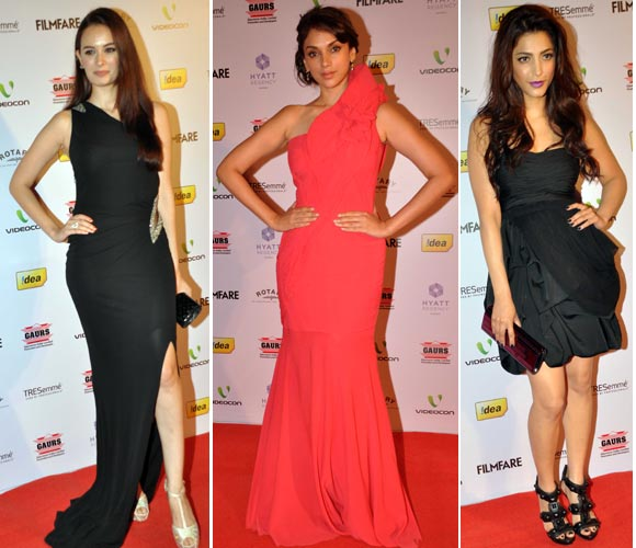 Evelyn Sharma, Aditi Rao and Shruti Haasan