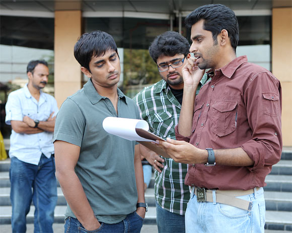 Balaji Mohan with Siddharth