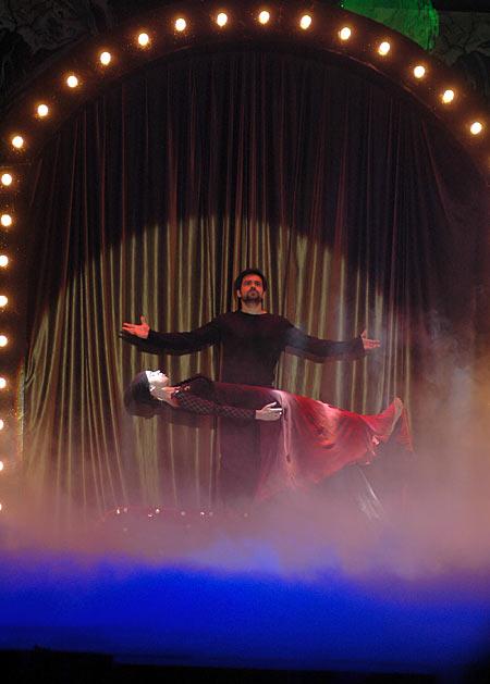 Emraan Hashmi on stage