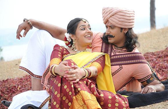 A scene from Krantiveera Sangolli Rayanna