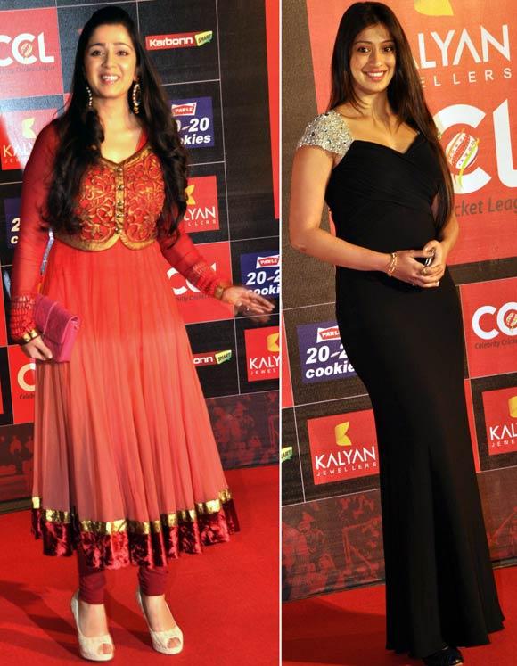 Charmee Kaur and Lakshmi Rai
