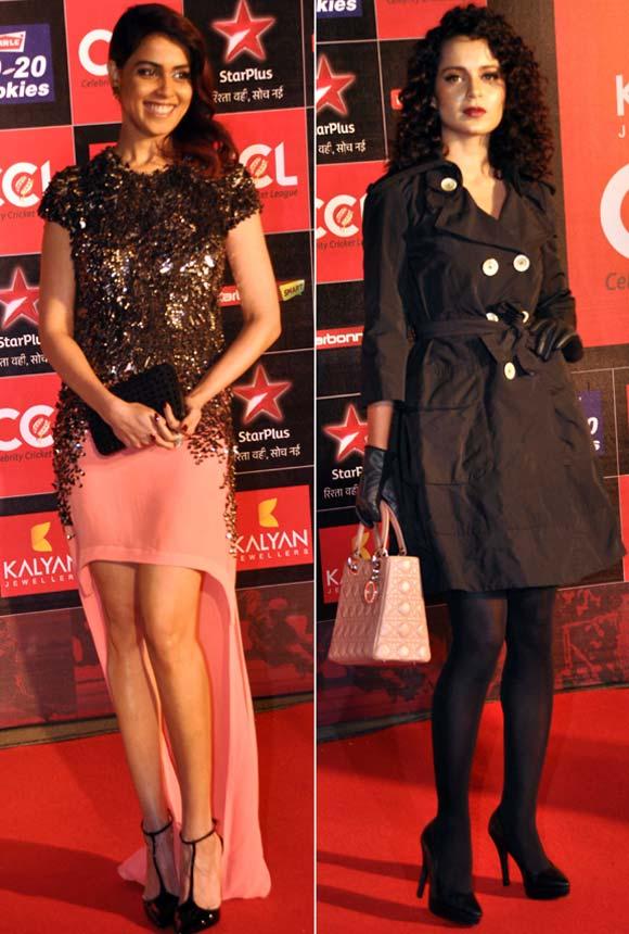 Genelia D'Souza and Kangna Ranaut