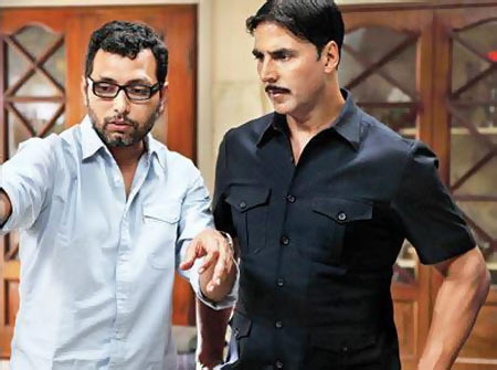 Neeraj Pandey and Akshay Kumar