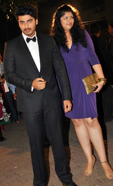 Arjun and Anshula Kapoor