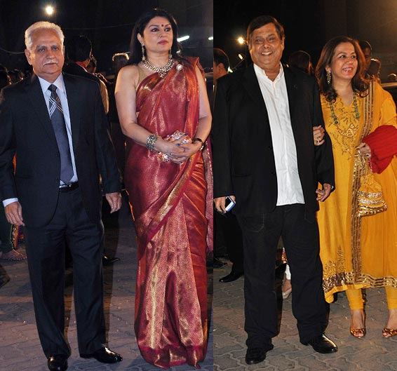 Ramesh Sippy-Kiran Juneja and David and Karuna Dhawan