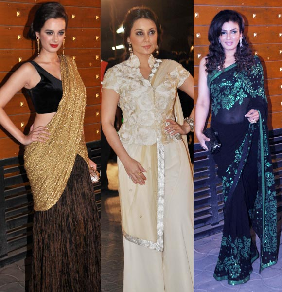 Evelyn Sharma, Minissha Lamba and Raveena Tandon