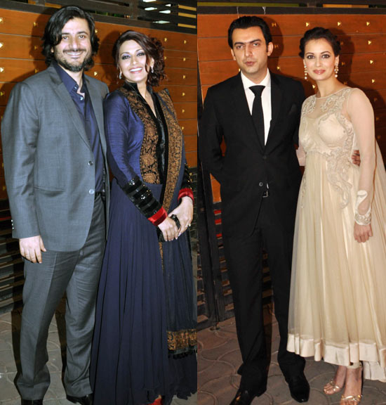 Goldie Behl, Sonali Bendre, Sahil Sangha and Dia Mirza