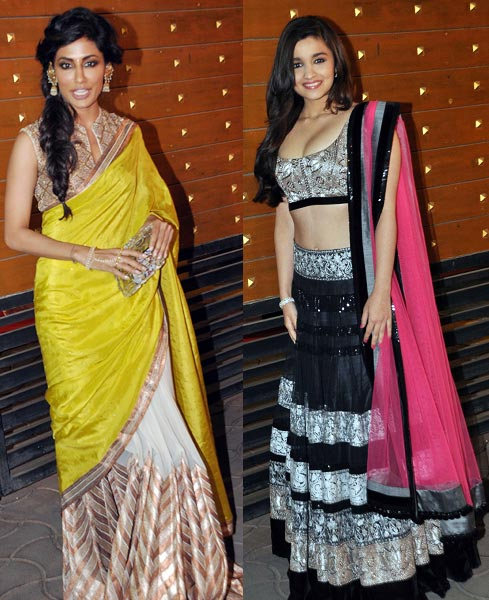 Chitrangada Singh and Alia Bhatt