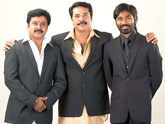 Dileep, Mammooty and Dhanush