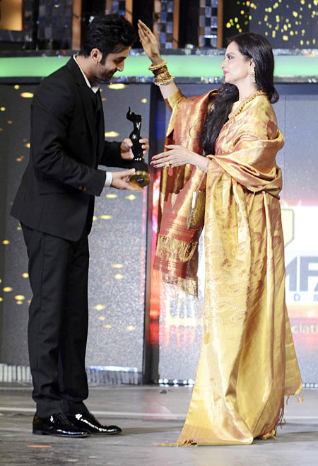 Ranbir Kapoor and Rekha