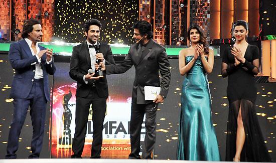 Saif Ali Khan, Ayushmann Khurrana, Shah Rukh Khan, Priyanka Chopra and Deepika Padukone