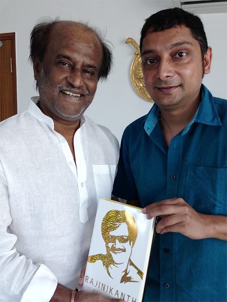 Rajinikanth and Naman Ramachandran