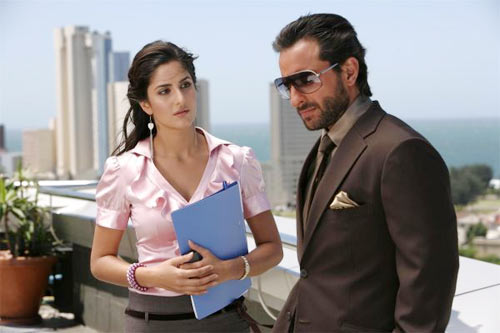 Katrina Kaif and Saif Ali Khan in Race