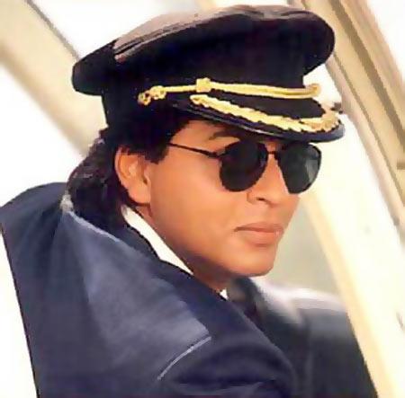 Shah Rukh Khan in Baazigar