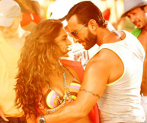 Deepika Padukone and Saif Ali Khan