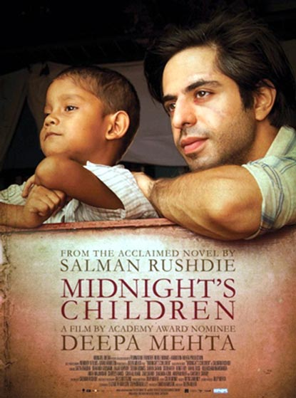 Movie poster of Midnight's Children
