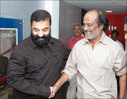 Kamal Haasan and Rajnikanth