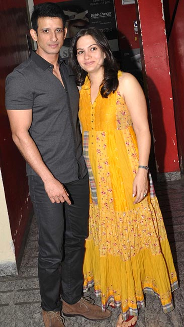 Sharman Joshi and Prerna Chopra