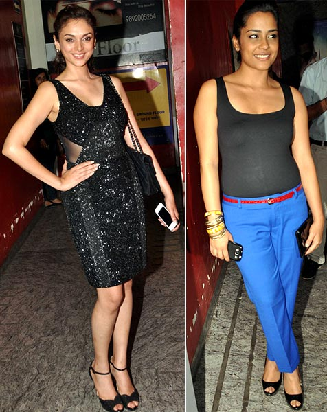 Aditi Rao Hydari and Shahana Goswami