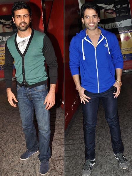 Harmaan Baweja and Tusshar Kapoor