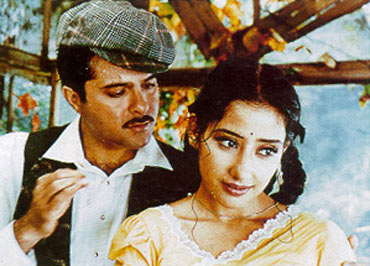 Anil Kapoor with Manisha Koirala in 1942: A Love Story