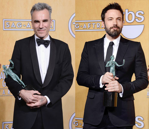 Daniel Day Lewis and Ben Affleck