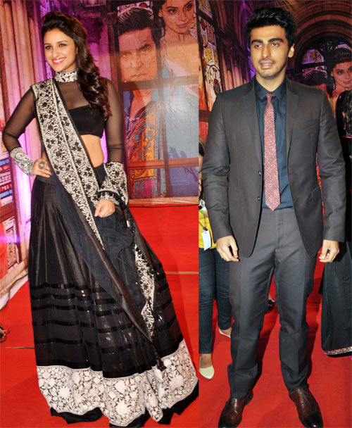 Parineeti Chopra  and Arjun Kapoor