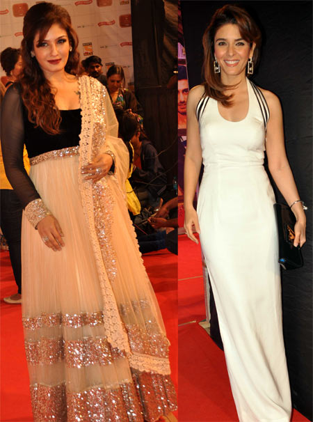 Raveena Tandon and Raageshwari