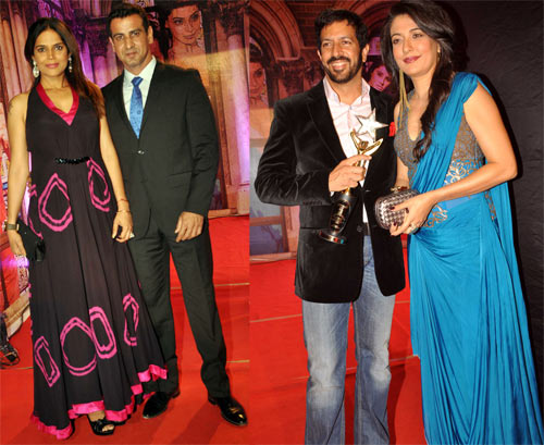 Neelam, Ronit Roy, Kabir Khan and Mini Mathur