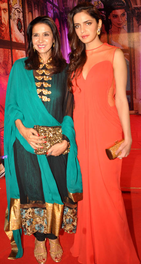Sharon Prabhakar and Shazahn Padamsee