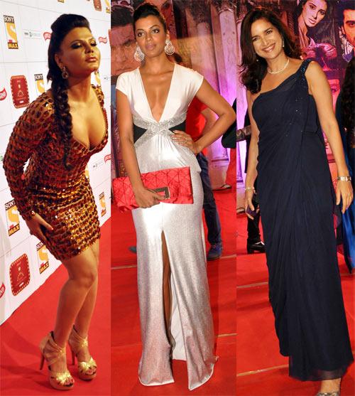 Rakhi Sawant, Mugdha Godse and Sushma Reddy