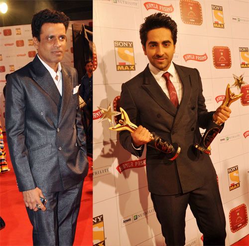 Manoj Bajpayee and Ayushmann Khurrana