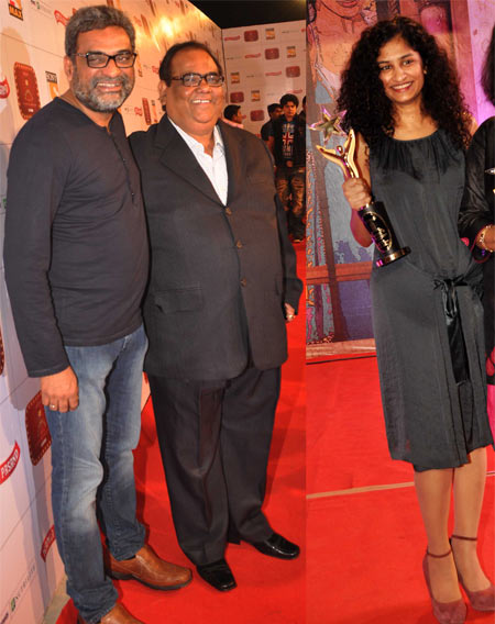 R Balki, Satish Kaushik and Gauri Shinde