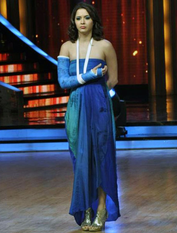 Isha Sharvani in Jhalak Dikhhla Jaa