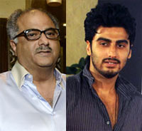 Boney and Arjun Kapoor