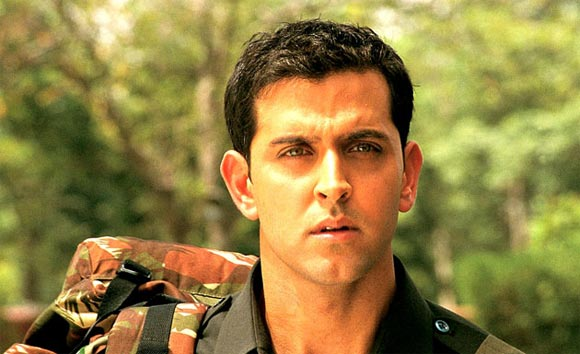 Hrithik Roshan in Lakshya, a film Reema assisted on.