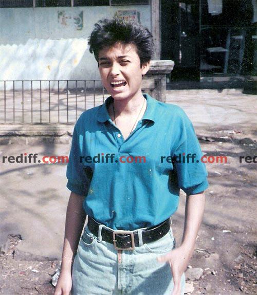 Reema Kagti in Arunachal Pradesh on a college trip.