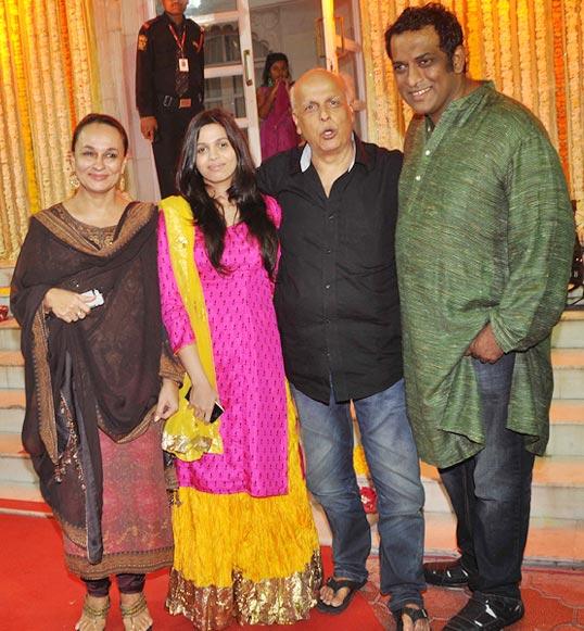Soni Razdan, Shaheen Bhatt, Mahesh Bhatt and Anurag Basu