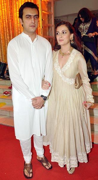 Sahil Sangha and Dia Mirza