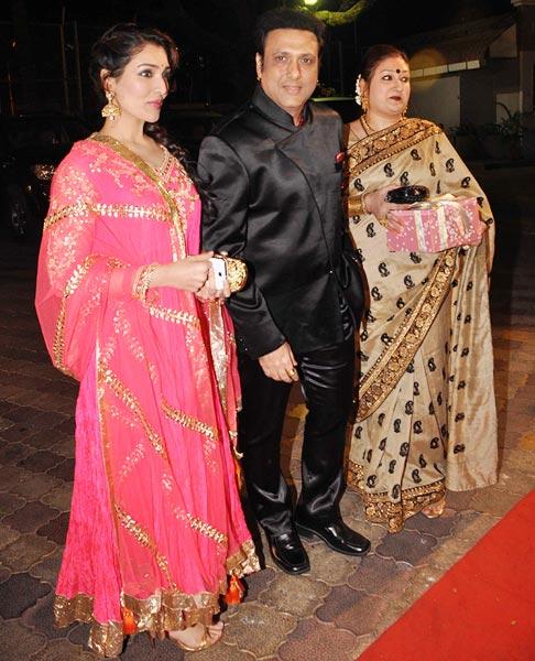 Narmada, Govinda and Sunita Ahjua