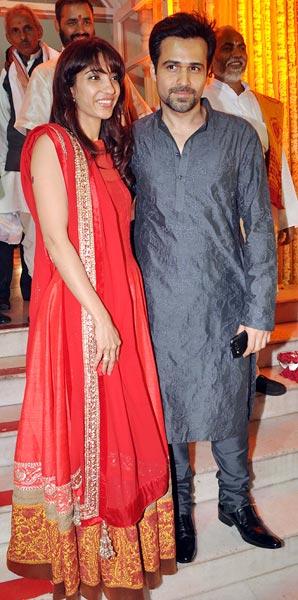 Emraan Hashmi and Parveen Shahani