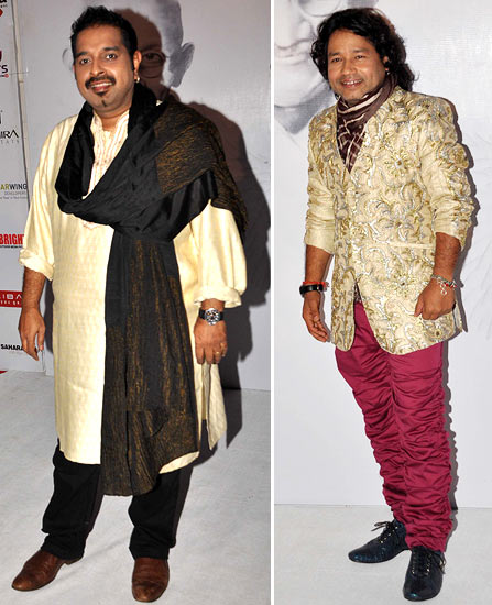 Shankar Mahadevan and Kailash Kher