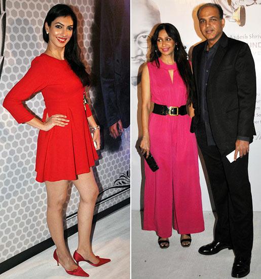 Yukta Mookhey, Ashutosh and Sunita Gowariker