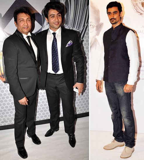 Kunal Kapoor, Shekhar and Adhyayan Suman