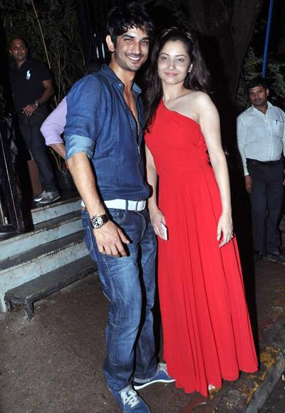 Sushant Signh Rajput and Ankita Lokhande