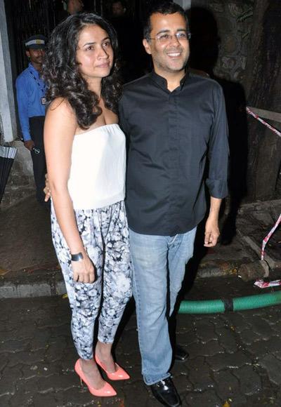 Chetan and Anusha Bhagat
