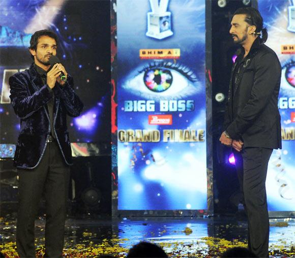 Vijay Raghavendra and Sudeep