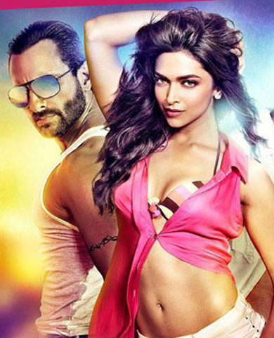 Saif Ali Khan and Deepika Padukone in Race 2