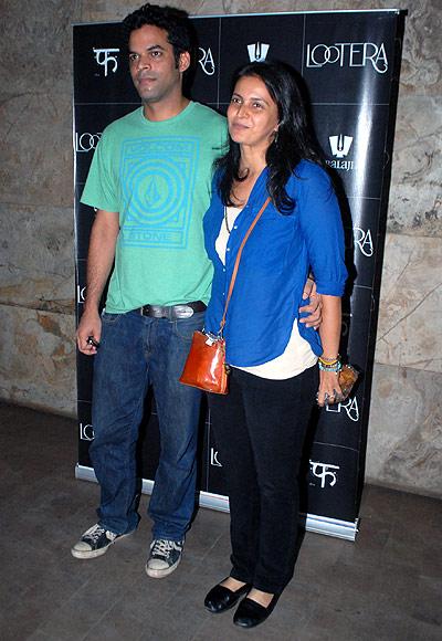 Vikramaditya Motwane and Ishika Mohan